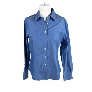 Brooks Brothers Size 8 Button Up Fitted Blouse